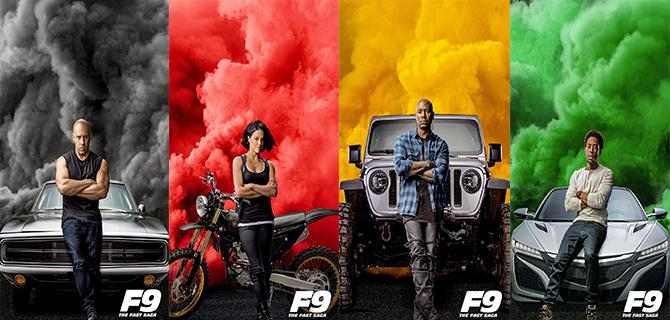 电影《速度与激情9》发布新角色海报